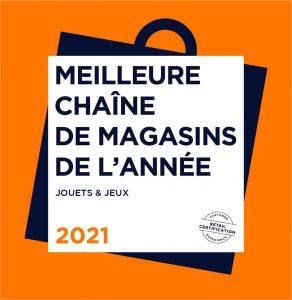 La Grande Récré, élue meilleure chaîne de magasins 2021!
