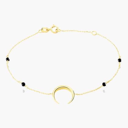 Histoire d'Or - Bracelet Luna Or Jaune - 129 euros