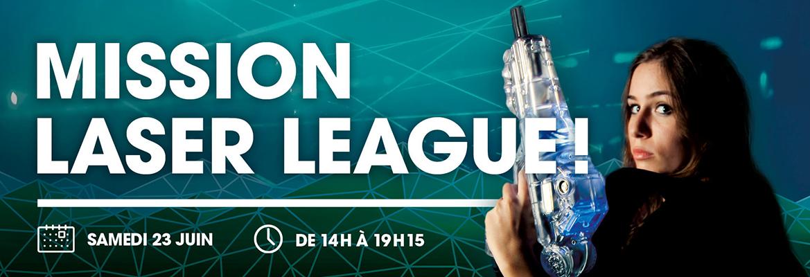 Mission Laser League - Saint martial