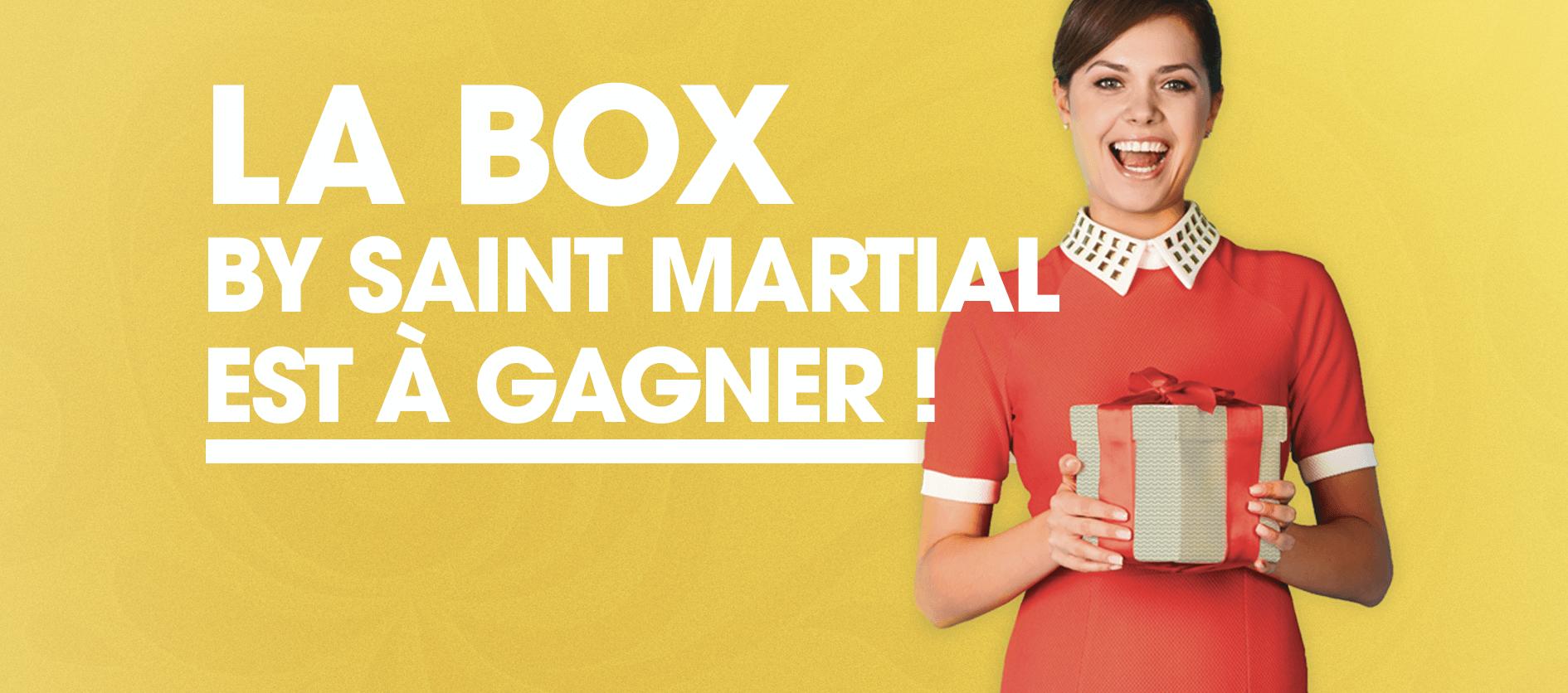 BOX Saint Martial