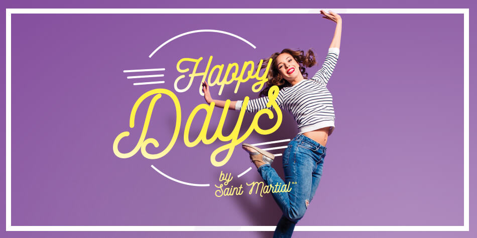 Saint Martial - Happy Days