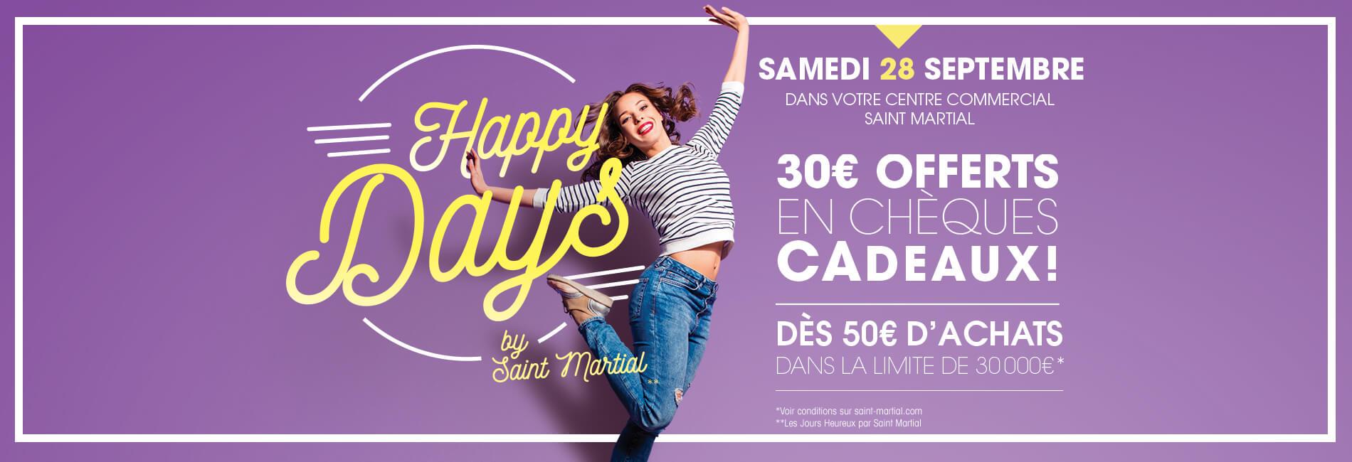Saint Martial - Happy Days Septembre
