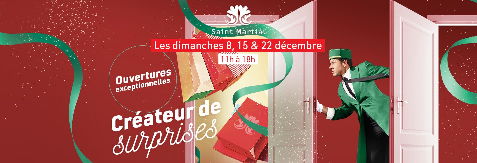 Saint Martial - Ouverture exceptionnelle