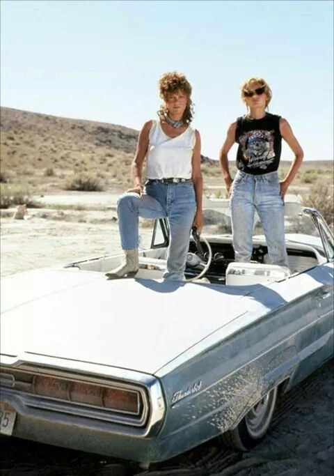 Inspiration duo - Thelma & Louise