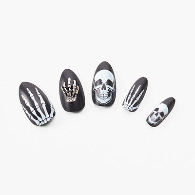 Faux Ongles Claires Halloween